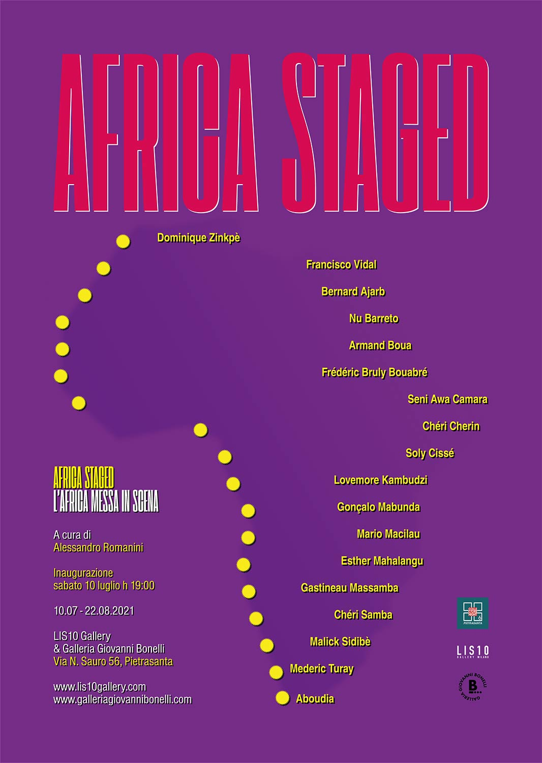 africa staged